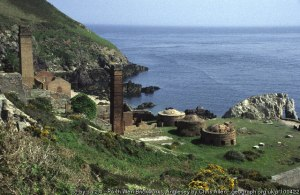 Brickworks at Porth Wen, Anglesey