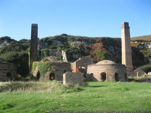 Porth Wen disused brickworks, Anglesey
