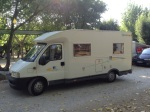 Our camper van - Well done Chausson 55
