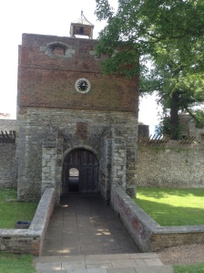 Entrance to the Elizabethan Fort
