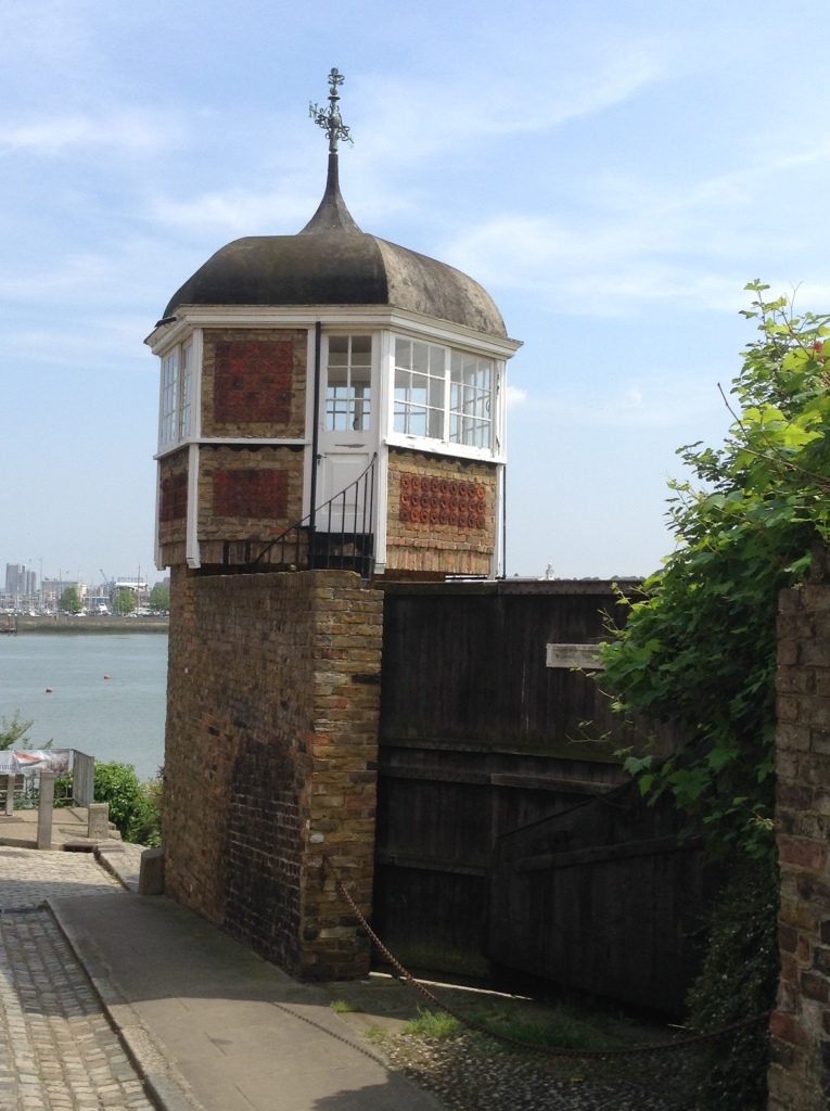 By the River Medway at Upnor