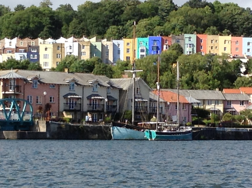 View from the Bristol Ferry Boat
