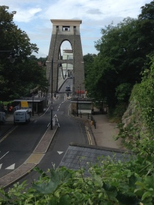 Approach to Clifton Suspension Bridge